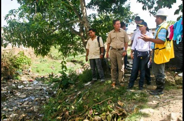 La inspección de los arroyos se cumplió por parte de miembros del Comité Local d