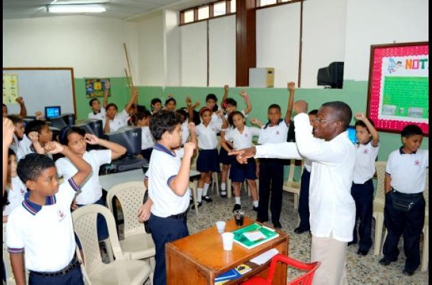 El Bicentenario llega a Ciudadela Escolar Comfenalco.