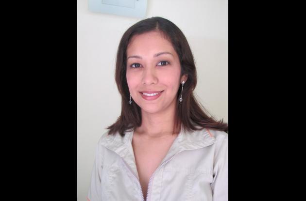 Sofía Isaza Jiménez, fisioterapeuta.