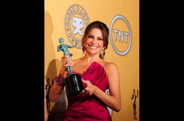 Sofía Vergara, actriz colombiana.