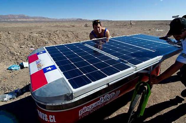 Autos solares chile Acatama
