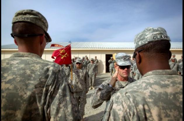 EEUU recorta tiempo de servicio de soldados en el exterior.
