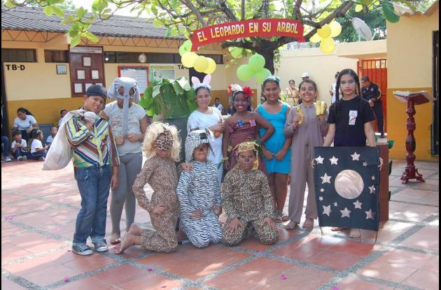 Día del Idioma en Institución Soledad Acosta de Samper