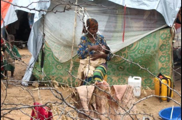 La hambruna en el Cuerno de Äfrica sigue cobrando víctimas.