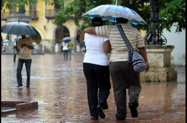 Cartagena, al son de los paraguas
