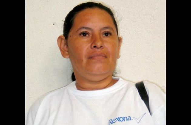 Yolanda Izquierdo.