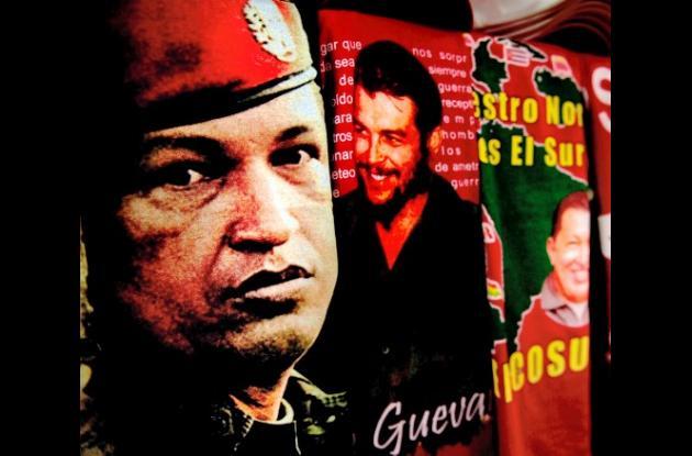 La imagen de Hugo Chávez hacen furor entre los simpatizantes de la revolución bo