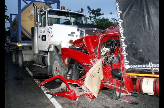 Accidente de tránsito en Chinú