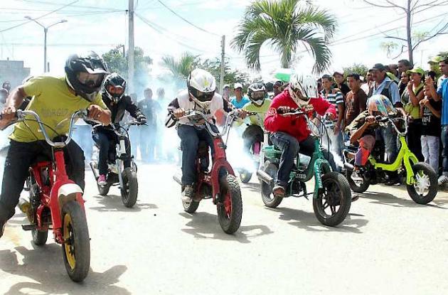 Quinta Válida de Motovelocidad del Club Sucre Extremo