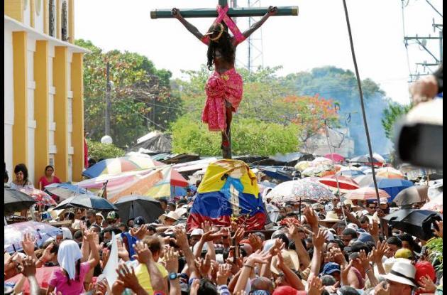 peregrinación al Cristo de la Villa de San Benito Abad.