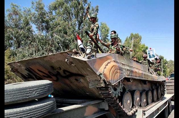 Doce civiles murieron en la región de Homs