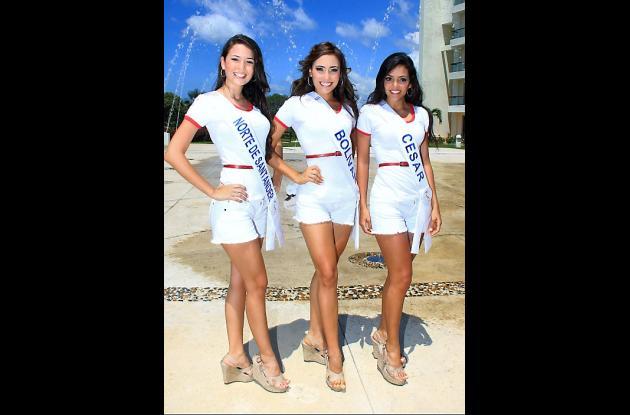 Señorita Norte de Santander, Mayra Alejandra Osorio Chávez; Señorita Bolívar, Ro