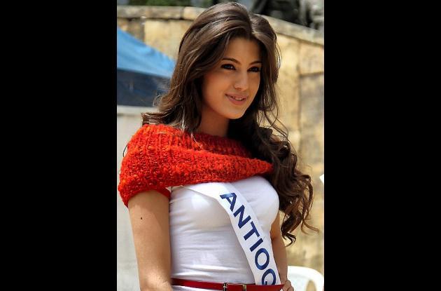 Señorita Antioquia, Olivia Aristizábal Echeverri.