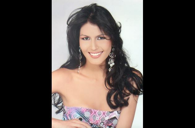 Señorita Caquetá, Lizeth Mendieta Villanueva.