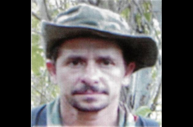 """Luis Enrique Benitez Cañola, alias """"Silvio"""" o """"El Francés""""."""