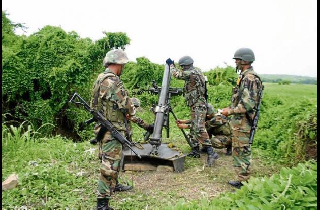 Operativos militares contra las farc