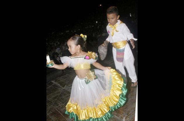 bailadores infantiles de Fandango