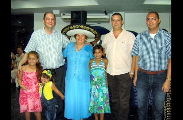 Cumpleaños de Carmen de Ospina
