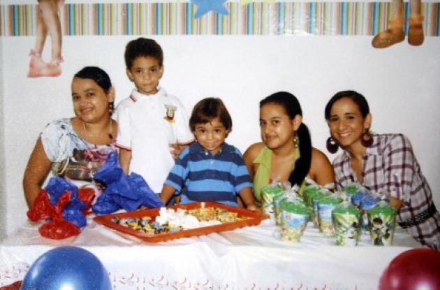 Cumpleaños de Samuel Merlano Santos