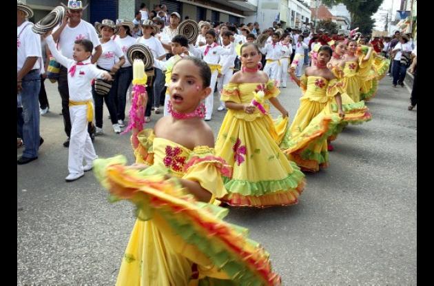 fandangueritos del Liceo Panamericanito