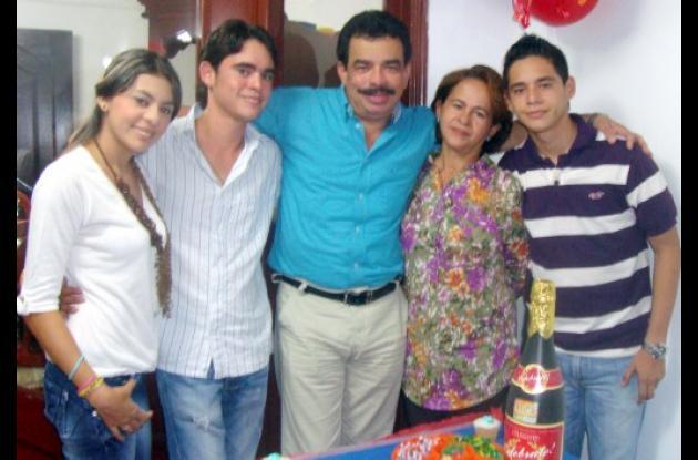 Cumpleaños de Huber González
