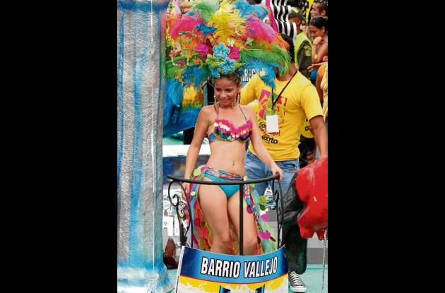 Sandra Vergara Montoya, del barrio Vallejo.