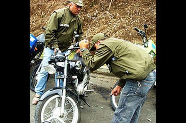 motocicletas recuperadas