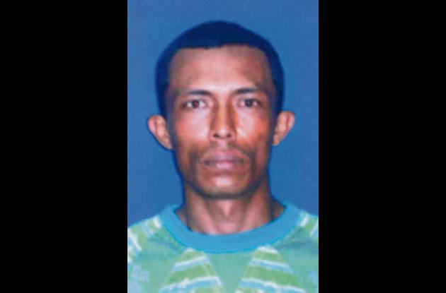 Dagoberto Setien Salgado, muerto.