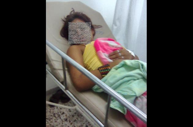 niña de 13 años embarazada y envenenada