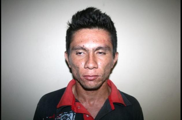 Edinson Samir Jaramillo Monsalve, capturado.