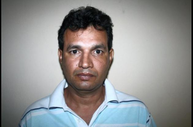 Uber Ferney Samur Barbosa, capturado.