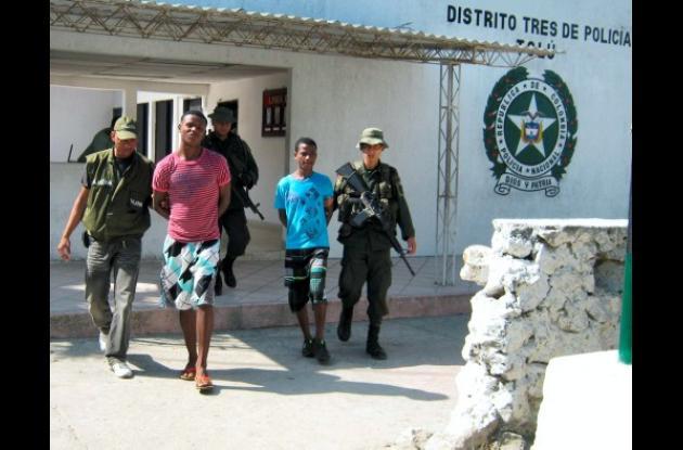 Capturadas varias personas por el delito de hurto