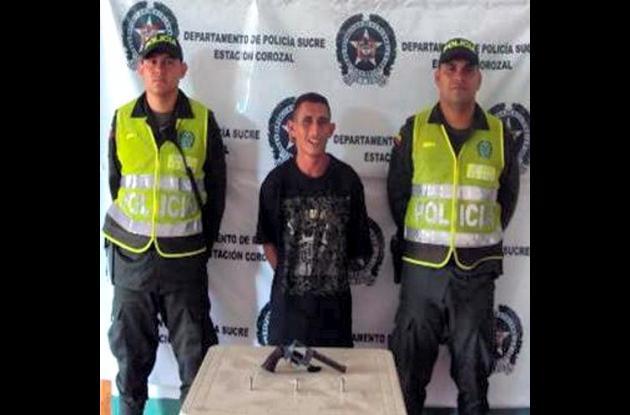 Juan Gabriel Vargas Álvarez, alias, El Cafetero, capturado.
