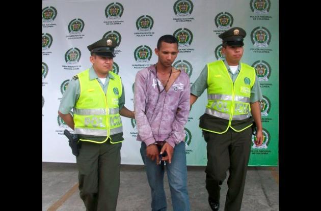 capturado al pretender ingresar droga a la Cárcel La Vega