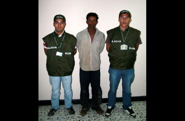 Cristo Rafael Herrera Silva, capturado por violación y hurto