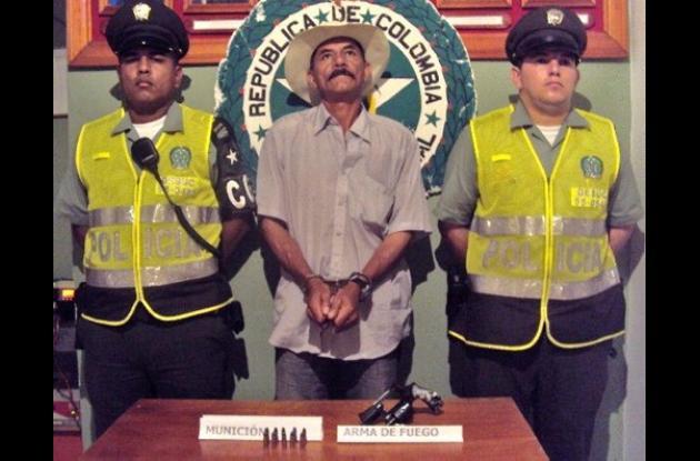 Héctor Iván San Martín Rivera, capturado