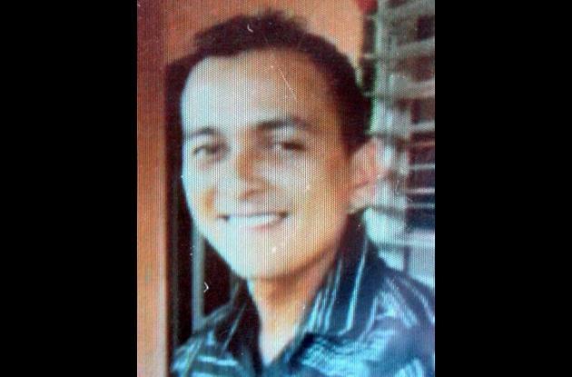 Víctor Manuel Díaz Álvarez, asesinado.