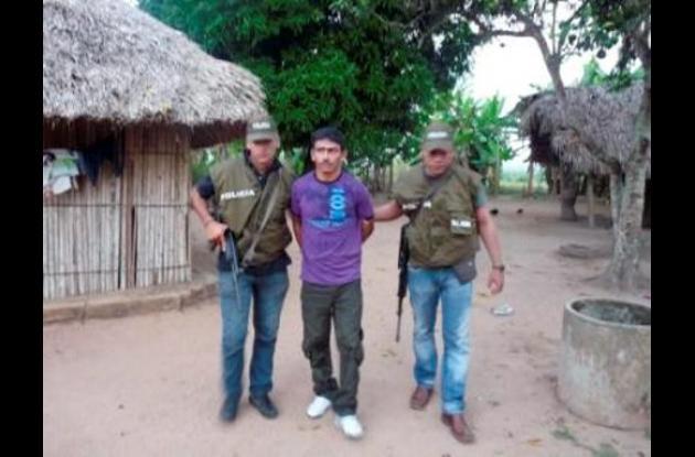 "José Pio Miranda Hoyos, alias ""Pio"", capturado."
