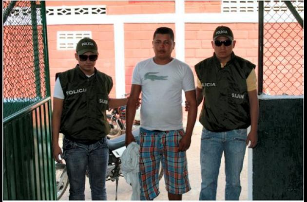Rafael Antonio Alean Mercado, capturado.