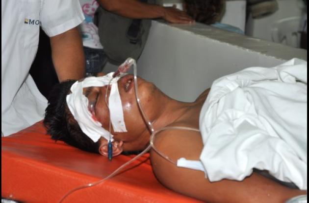 Óscar Flórez Pérez, fallecido, tras accidentarse en motocicleta.