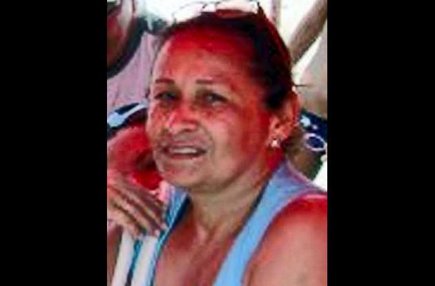 María Elena Bertel, asesinada.