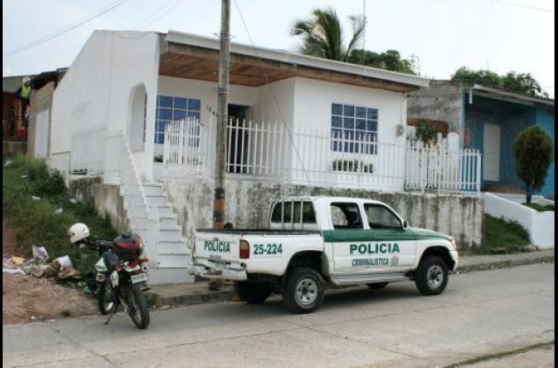 casa del barrio 20 de Julio de Sincelejo