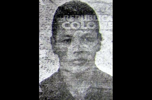 Jhon Alexander González Vergara, fallecido.