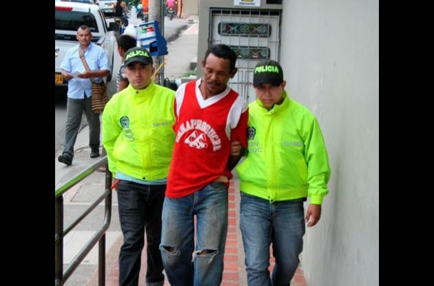 Antonio Joaquín Martínez Herazo, capturado por violación.
