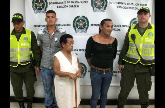 personas fueron capturadas por la Policía Nacional