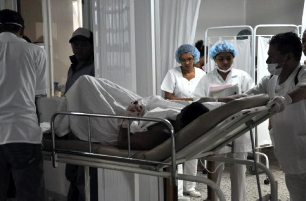 Miguelina Herrera Mendoza, fue llevada al Hospital Universitario