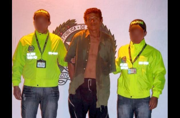 Janer Miguel Durán Valderrama, capturado por robo en Sincé.