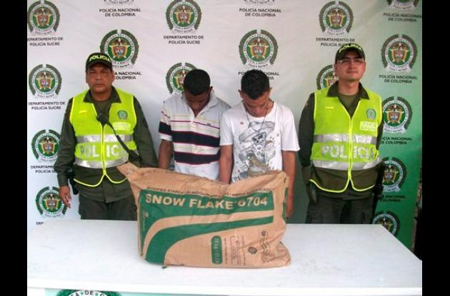Carlos Mario de la Ossa Monterroza y Deivis Beltrán Sierra, capturados