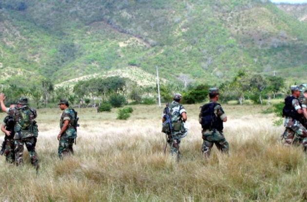 Infantería de Marina mantiene el control de los Montes de María