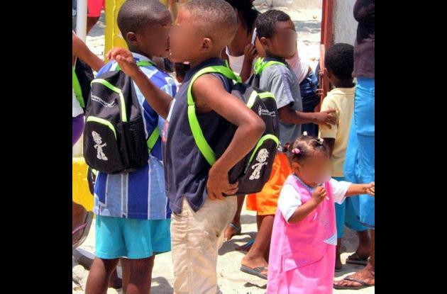 Los niños rescatados quedaron bajo protección especial de la Comisaría